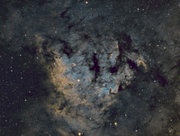 NGC7822- A star forming complex in Cepheus
